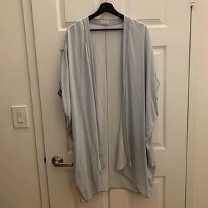 Aritzia Azure Skies blouse